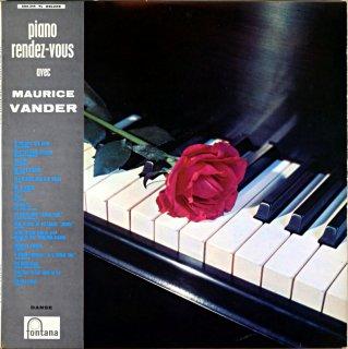 MAURICE VANDER PIANO RENDEZ-VOUS France盤