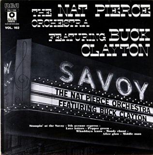 THE NAT PIERCE ORCHESTRA FEATURING BUCK CLAYTON France盤