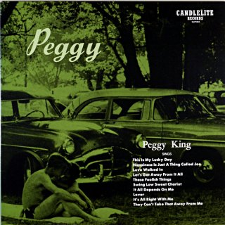 PEGGY PEGGY KING SINGS 10inch盤