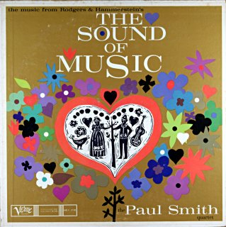 THE SOUND OF MUSIC THE PAUL SMITH QUARTET Us盤