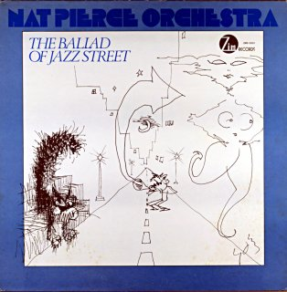THE BALLAS OF JAZZ STREET NAT PIERCE ORCHESTRA Us盤