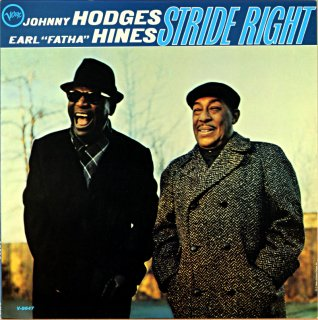 JOHNNY HODGES ERAL HINES STRIDE RIGHT