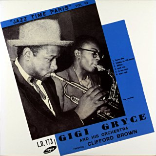 JAZZ TIME PARIS VOL.10 GIGI GRYCE - CLIFFORD BROWN 10inch盤