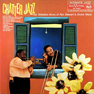 CHATTER JAZZ THE TALKIAVIVE HORNS OF REX STEWART Spanish盤
