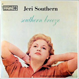 JERI SOUTHERN SOUTHERN BREEZE (Fresh sound)盤