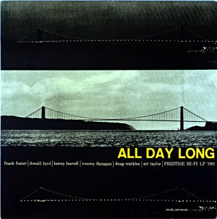 KENNY BURRELL / ALL DAY LONG