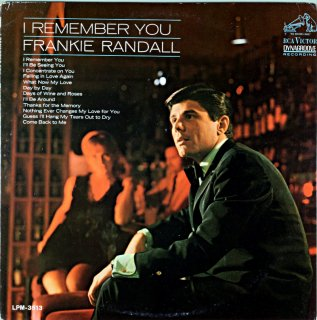 I REMEMBEER YOU FRANKIE RANDALL Original盤