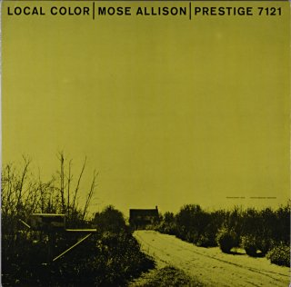 LOCAL COLOR / MOSE ALLISON (OJC盤)