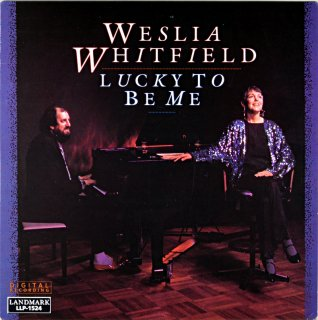 WESLIA WHITFIELD LUCKY TO BE ME Us盤