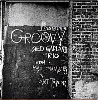 GROOVY RED GARLAND TRIO (OJC盤)