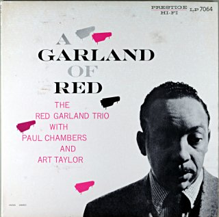 A GARAND OF RED THE RED GARLND TRIO (OJC盤)