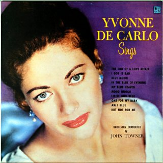 YVONNE DE CARLO SINGS Us盤