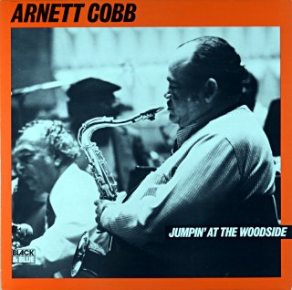 ARNETT COBB JUMPIN' AT THE WOODSIDE France盤