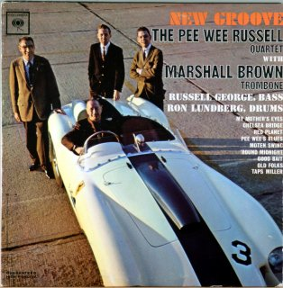 NEW GROOVE THE PEE WEE RUSSELL QUARTET Original盤