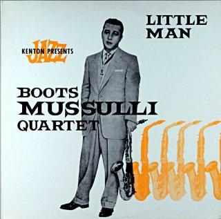 LITTLE MAN BOOTS MUSSULLI QUARTET Affinity盤