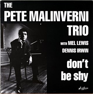 THE PETE MALINVERNI TRIO DON'T BE SHY Original盤