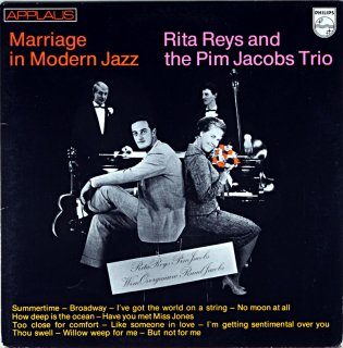 MARRIAGE IN MODERN JAZZ RITA REYS AND THE PIM JACKOBS TRIO Holland盤