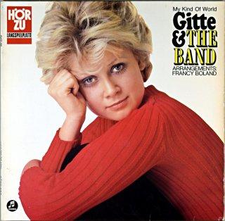 MY KIND OF WORLD GITTE & THE BAND GETTE HAENNING Original盤