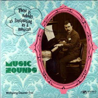 MUSIC SOUNDS WOLFGANG DAUNER TRIO Original盤