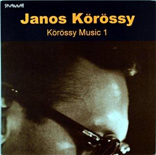 JANOS KOROSSY KOROSSY MUSIC 1 10inch盤