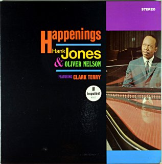 HAPPENINGS HANK JONES & OLIVER NELSON Original盤