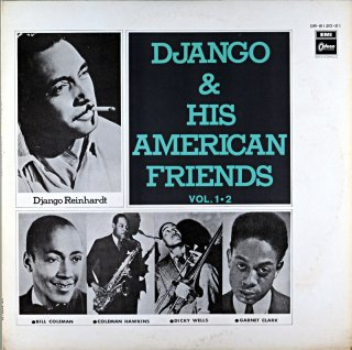 DJANGO & AMERICAN FRIENDS VOL.1,2 2枚組