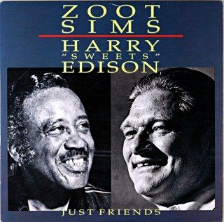 ZOOT SIMS HARRY EDISON JUST FRIENDS (OJC盤)