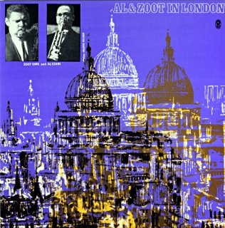 ZOOT SIMS - AL & ZOOT - AL COHN IN LONDON Spanish盤