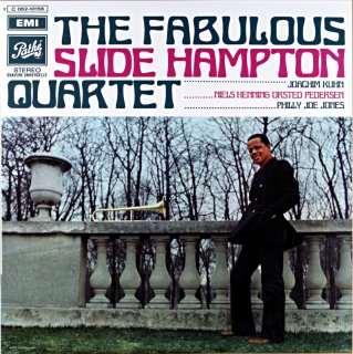 THE FABULOUS SLIDE HAMPTON QUARTET France盤
