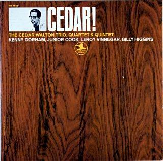 CEDAR! THE CEDAR WALTON TRIO,QUARTET & QUINTET (OJC)盤