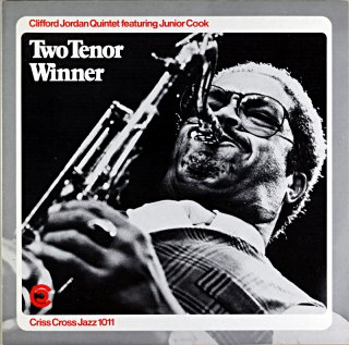CLIFFORD JORDAN TWO TENOR WINNER Holland盤