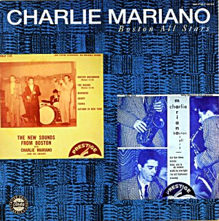 CHARLIE MARIANO BOSTON ALL STARS (OJC)盤