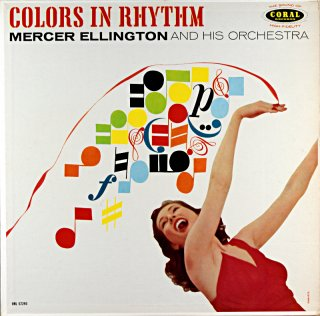 COLORS IN RHYTHM MERCER ELLINGTON AND HIS ORCHESTRA Original盤