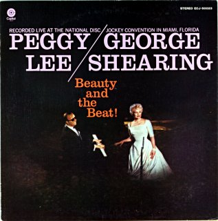 PEGGY LEE GEORGE SHEARING BEAUTY AND THE  BEAT!