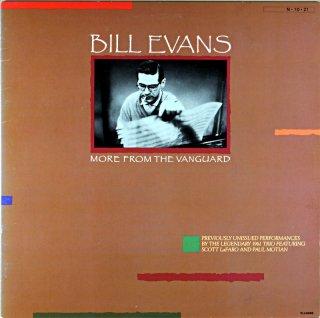 BILL EVANS MORE FROM THE VANGURD