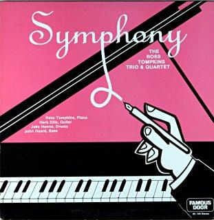 SYMPHONY THE ROSS TOMPKINS TRIO & QUARTET Original盤