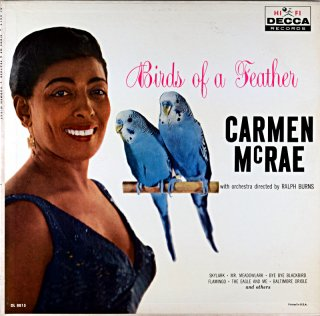 BIRDS OF  A FETHER CARMEN McRAE Original盤