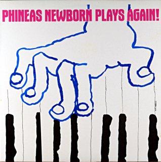 PHINEAS NEWBORN PLAYS AGAIN! Itarian盤