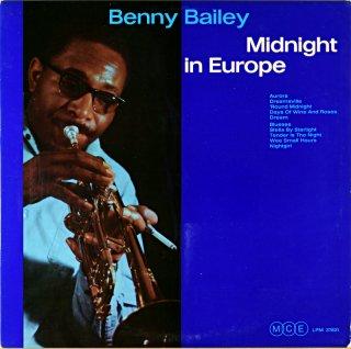 BENNY BAILEY MIDNIGHT IN EUROPE Original盤