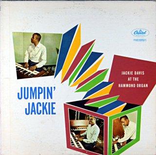 JUMPIN' JACKIE DAVIS AT THE HAMMOND ORGAN Us盤