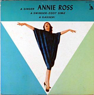 A SINGER ANNIE ROSS A SWINGER ZOOT SIMS