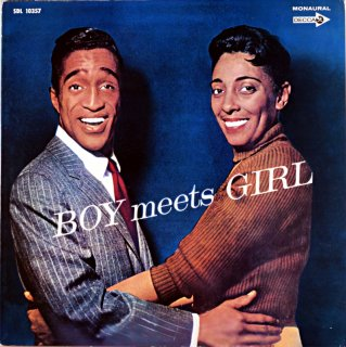 BOY AND GIRL SAMMY DAVIS JR AND CARMEN McRAE