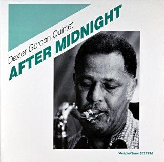 DEXTER GORDON QUINTET AFTER MIDNIGHT Original盤