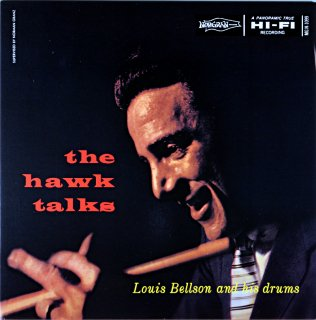 THE HAWK TALKIS LOUIS BELLSON AND HIS DRUMS