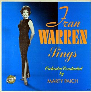 FRAN WARREN SINGS Original盤
