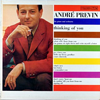 ANDRE PREVIN THINKING OF YOU Original盤