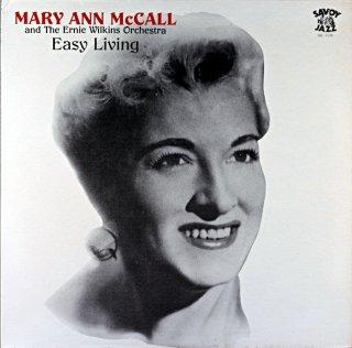 MARY ANN McCALL EASY LIVING Us盤