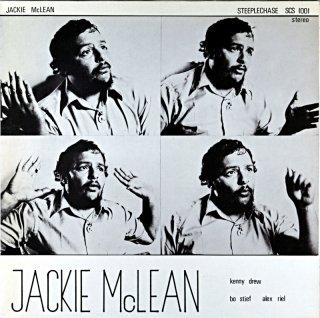 JACKIE McLEAN LIVE AT MONTMARTRE Denmark盤