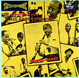 MAINSTREAM JAZZ ALL ABOUT MEMPHIS BUSTER BAILEY Us盤