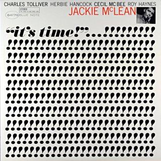 IT'S TIME! JACKIE McLEAN